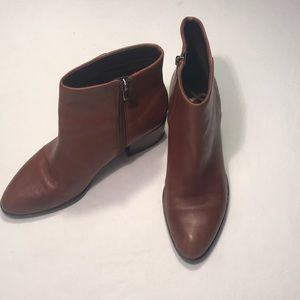 Sam Edelman Leather Ankle Boots Sz 7.5